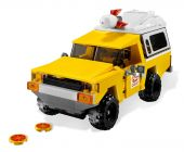 LEGO Toy Story 7598 La course en camionnette Pizza Planet
