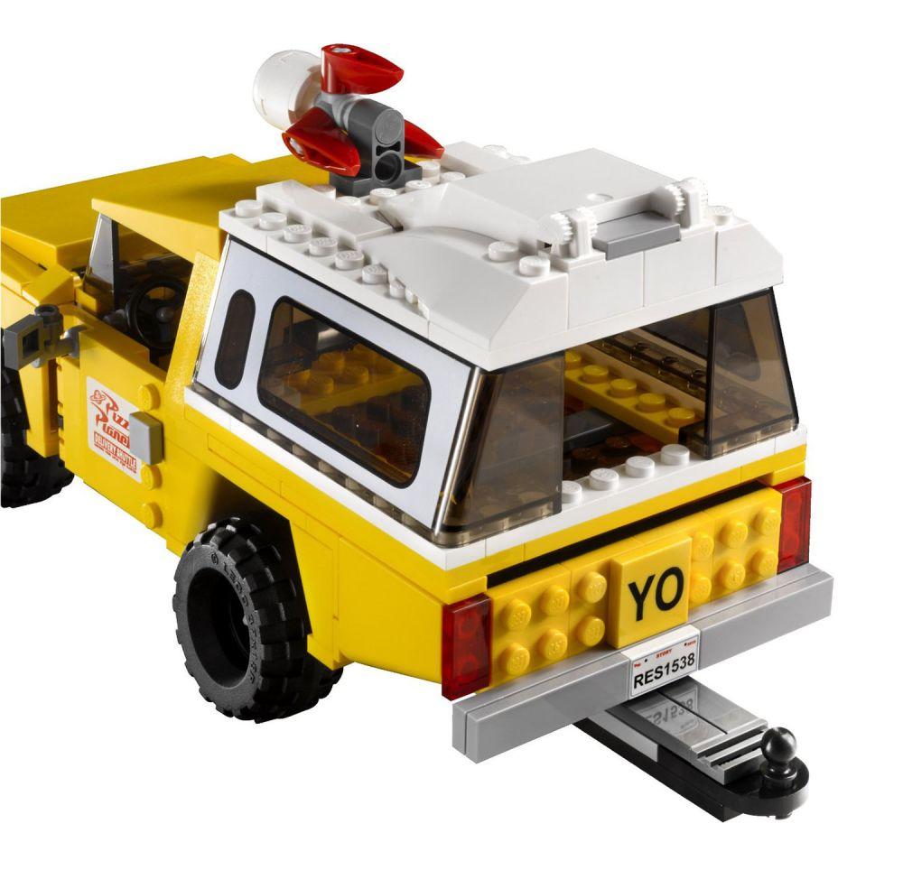 lego toy story 7598 pas cher la course en camionnette pizza planet. Black Bedroom Furniture Sets. Home Design Ideas