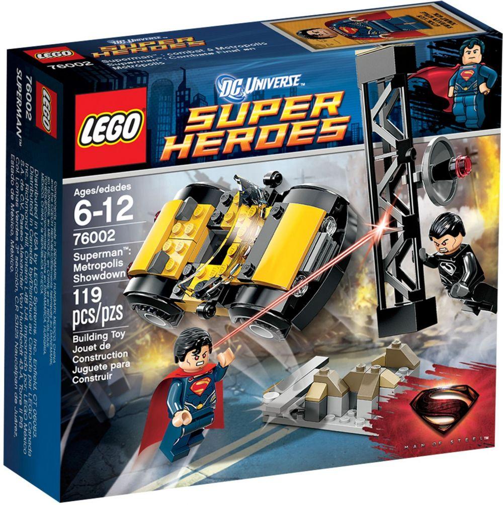 LEGO DC Comics Super Heroes 76002 pas cher  Superman : le combat à Metropolis