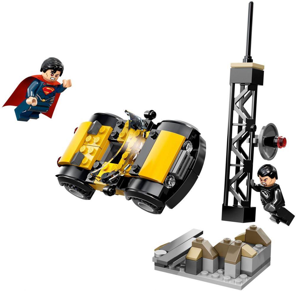 76002 – Superman : Le Combat à Métropolis de LEGO