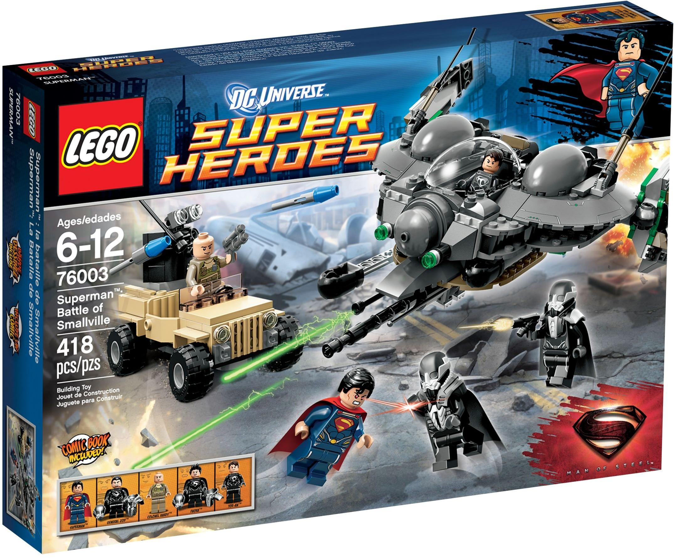 Lego Heroes 76003 Super Comics Bataille Dc De Smallville SupermanLa UzVpqSM