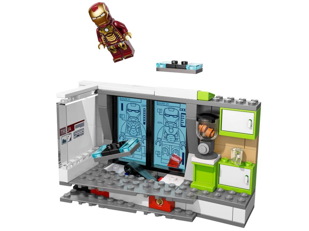 Lego marvel super heroes 76007 pas cher iron man l for Maison d iron man
