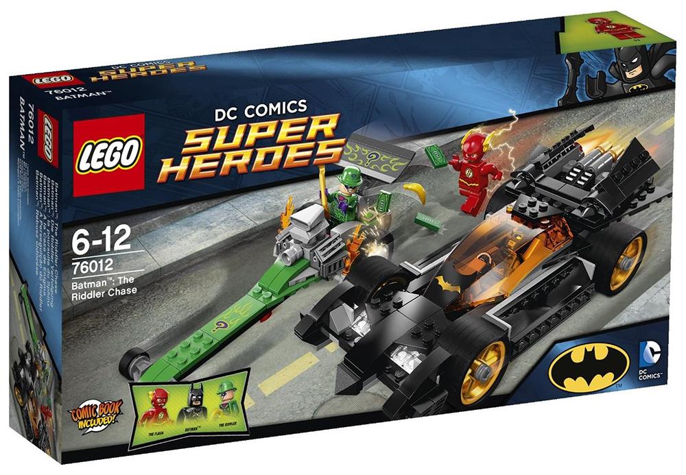 Lego dc comics super heroes 76012 pas cher batman la poursuite du sphinx - Flash le super heros ...