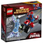 LEGO Marvel Super Heroes 76014 - Spider-Trike contre Electro pas cher