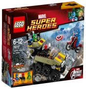 LEGO Marvel Super Heroes 76017 - Avengers: Captain America contre Hydra pas cher