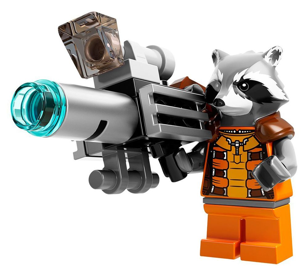 marvel lego rocket