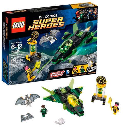 Green Dc Super Lantern Comics Lego Heroes Contre 76025 Sinestro DEH92WI
