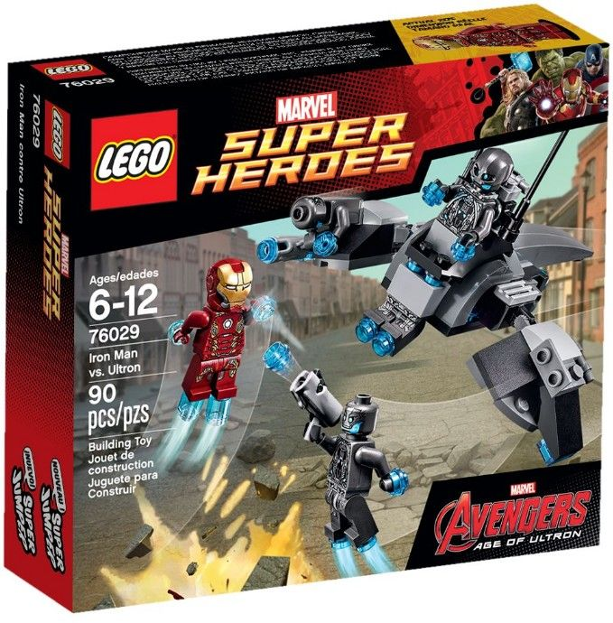 Man Contre Heroes 76029 Ultron Marvel Lego Iron Super 35jRq4LA
