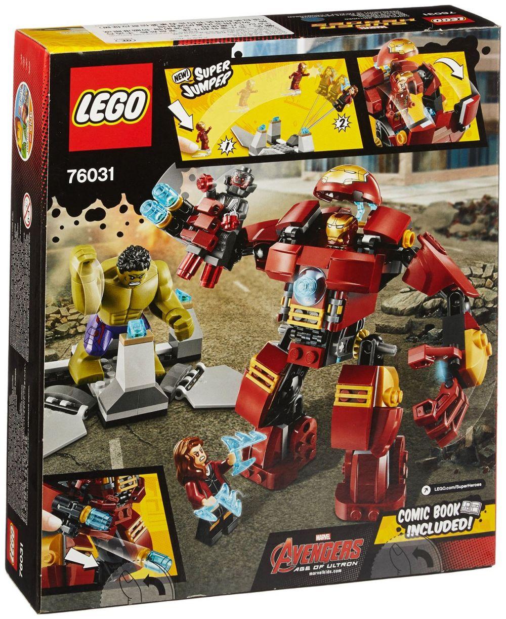 Lego marvel super heroes 76031 pas cher le combat du - Logo super heros ...
