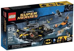 LEGO DC Comics Super Heroes 76034 Poursuite en BatBoat dans le port