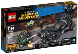 LEGO DC Comics Super Heroes 76045 - L'interception de la Kryptonite pas cher