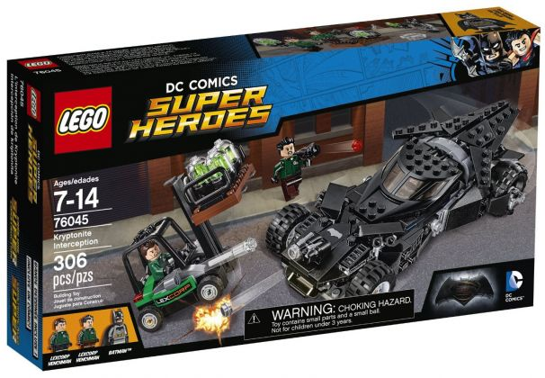 LEGO DC Comics Super Heroes 76045 L'interception de la Kryptonite