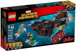 LEGO Marvel Super Heroes 76048 L'attaque en sous-marin d'Iron Skull
