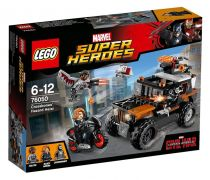 LEGO Marvel Super Heroes 76050 L'attaque toxique de Crossbones