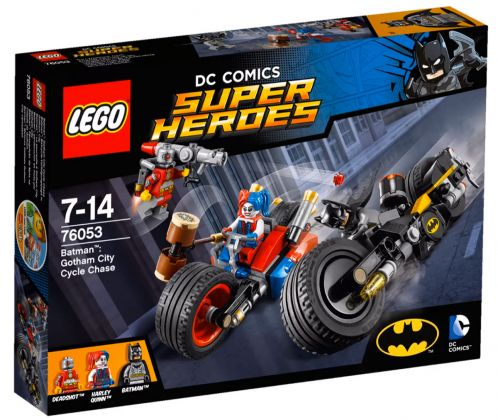 LEGO DC Comics Super Heroes 76053 Batman : La poursuite à Gotham City