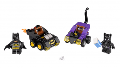 LEGO DC Comics Super Heroes 76061 Batman contre Catwoman