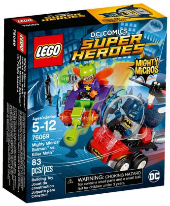 LEGO DC Comics Super Heroes 76069 Mighty Micros : Batman contre Killer Moth