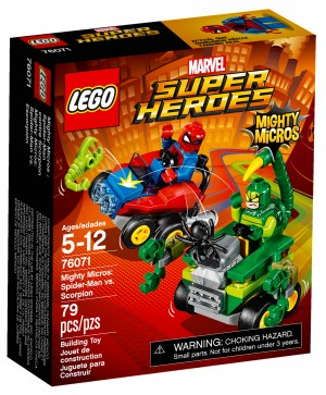 76071 - Mighty Micros : Spider-Man contre Scorpion