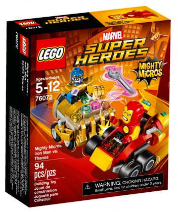 LEGO Marvel Super Heroes 76072 Mighty Micros : Iron Man contre Thanos