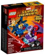LEGO Marvel Super Heroes 76073 - Mighty Micros : Wolverine contre Magneto pas cher
