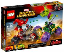 LEGO Marvel 76078 Hulk contre Hulk Rouge