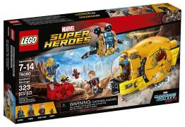 LEGO Marvel Super Heroes 76080 - La revanche d'Ayesha pas cher
