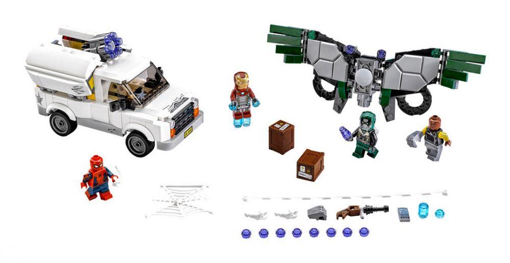 LEGO Marvel Super Heroes 76083 pas cher - L'attaque aérienne de Vautour