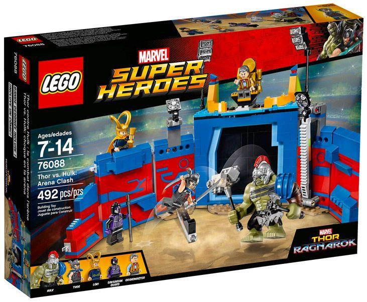 L'arène Thor Super Contre Heroes Combat Dans HulkLe Marvel Lego 76088 MUpGVSqz