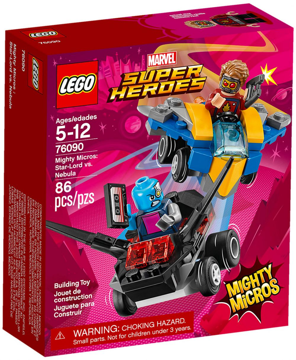 Lord Contre Nebula Marvel Super Heroes Lego 76090 MicrosStar Mighty qUMzSVGp