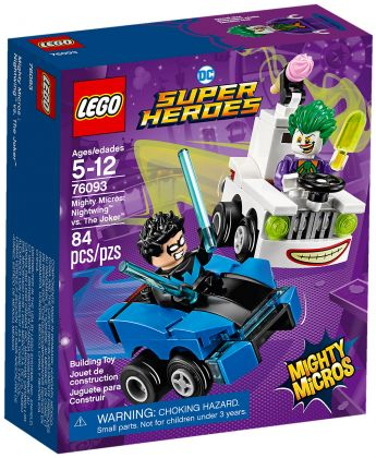 LEGO DC Comics Super Heroes 76093 Mighty Micros : Nightwing contre Le Joker