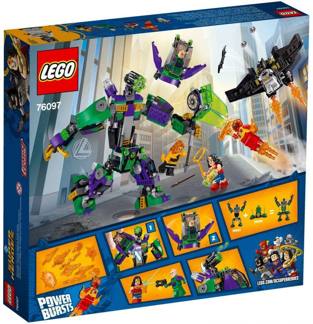 Dc Lego Luthor L'attaque Armure Heroes Super En 76097 Lex De Comics 7bg6vyYf