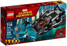 LEGO Marvel 76100 L'attaque en avion chasseur royal