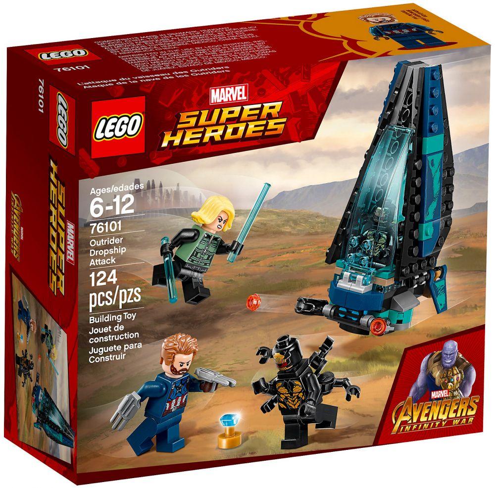 Par Lego Heroes 76101 Marvel CherL'attaque Du Super Vaisseau Pas 5j3Aqc4LR