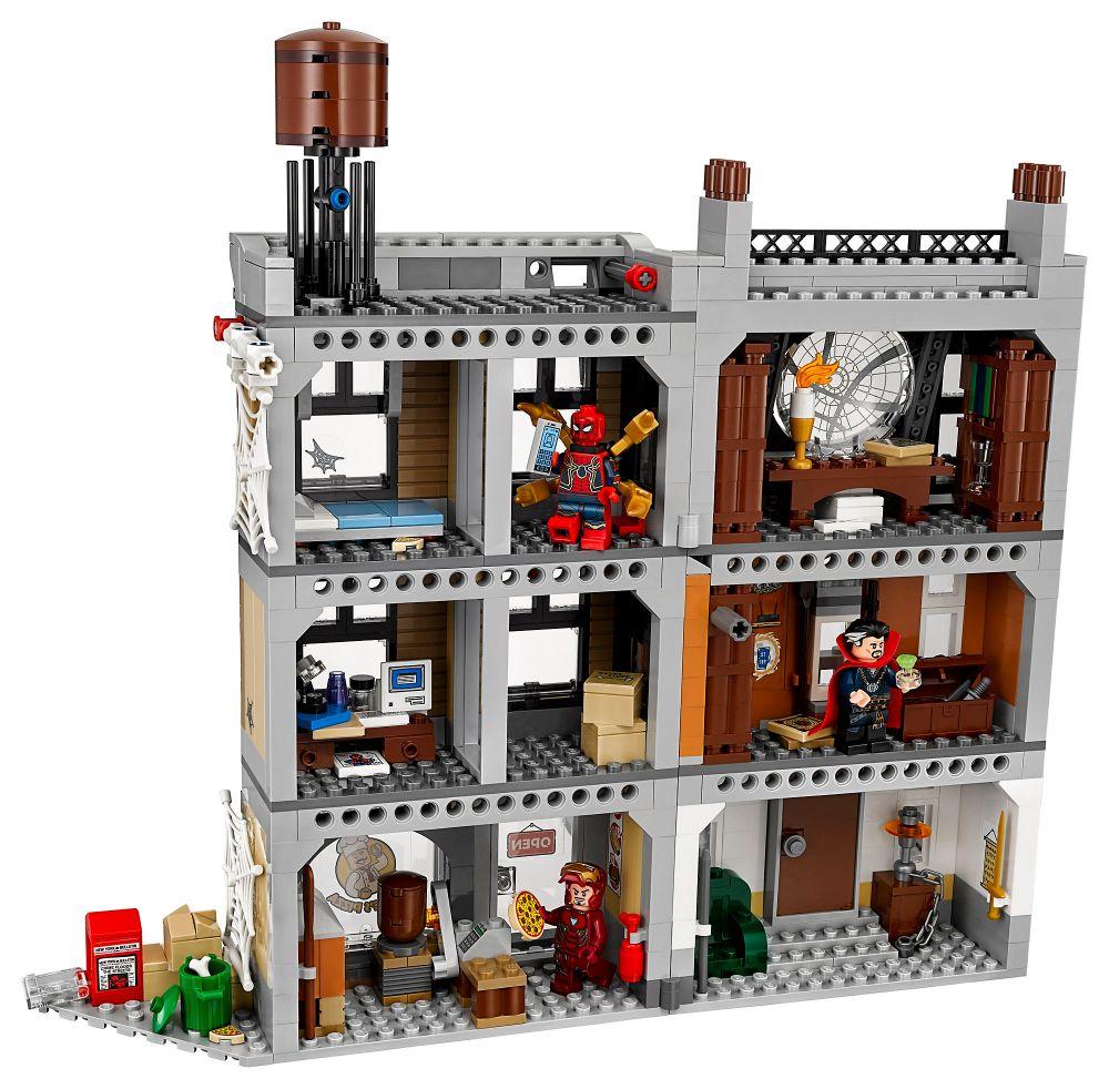 CherLa Super Pas Bataille Lego Marvel 76108 Pour Heroes f6gb7Yy