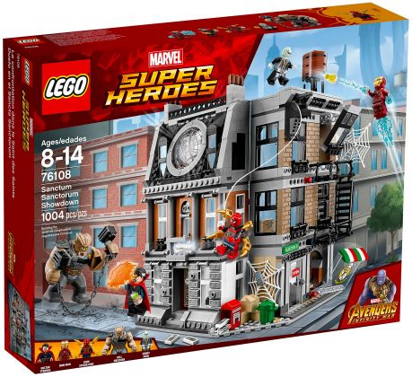 LEGO Marvel Super Heroes 76108 La bataille pour la protection du Saint des Saints
