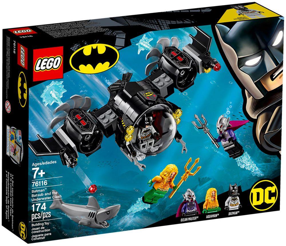 Combat Bat Batman Super Dc De Comics Heroes 76116 Et Marin Sous L'eau Lego Le gyYb6vf7