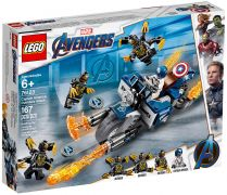 LEGO Marvel Super Heroes 76123 Captain America et l'attaque des Outriders