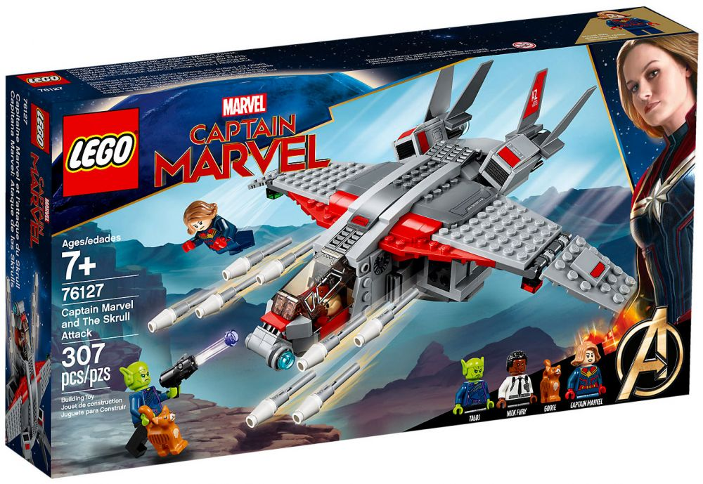 Marvel Et Captain Super Lego Du L'attaque Skrull Heroes 76127 dxoEBeQrCW