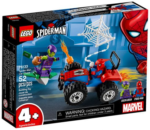 LEGO Marvel Super Heroes 76133 Spider-Man et la course poursuite en voiture