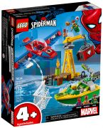 LEGO Marvel 76134 Spider-Man : Docteur Octopus et le vol du diamant