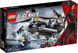 LEGO Marvel Super Heroes 76162 La poursuite en hélicoptère de Black Widow