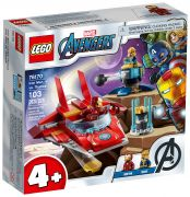 LEGO Marvel 76170 Iron Man contre Thanos