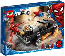 LEGO Marvel 76173 Spider-Man et Ghost Rider contre Carnage