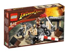 LEGO Indiana Jones 7620 - La poursuite à moto d'Indiana Jones pas cher