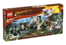 LEGO Indiana Jones 7623 La traversée du temple maudit