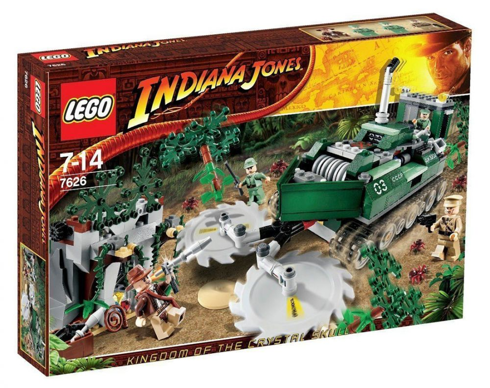 7626 De Jungle Indiana La Jones Lego Le Débroussailleur EYD2HIW9