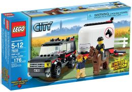 LEGO City 7635 Le transport de chevaux