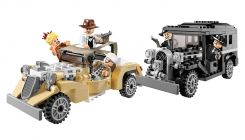 LEGO Indiana Jones 7682 Course poursuite dans Shanghai