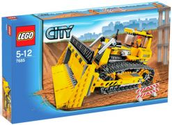 LEGO City 7685 Le bulldozer