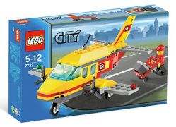 LEGO City 7732 L'avion postal